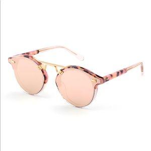 STL II NYLON overlay mirrored sunglasses